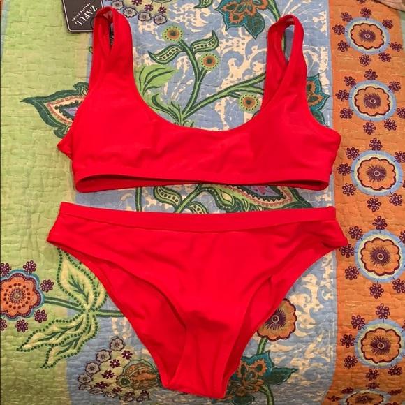 Red bikini NEW NWT